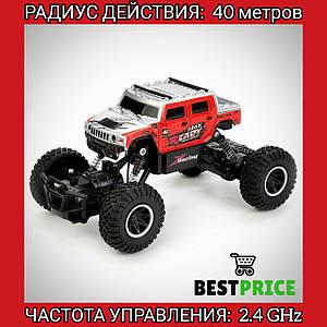 Машинка джип на радиоуправлении Road Crawler (Красный)