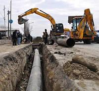 Строительство водопровода