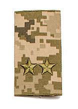 Погоны пиксель муфта подполковник (старый образец)