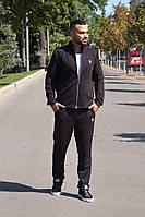 Костюм мужской спортивный черный 40730, фото 1