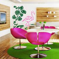 Наклейка виниловая Flamingo Фламинго