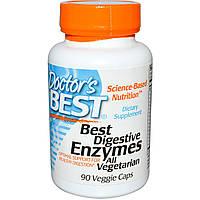 Пищеварительные ферменты (энзимы) Doctor's Best 90 капсул