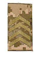 Погоны пиксель  муфта (старший сержант)