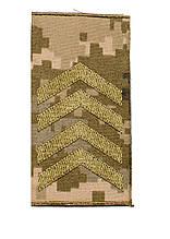 Погоны пиксель муфта старший сержант  (старый образец)