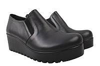 Туфли женские Guero натуральная кожа, цвет черный, размер 36-40, Турция