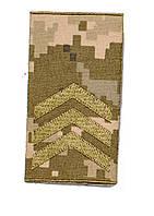 Погоны пиксель  муфта ( сержант)