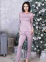 Красивая женская пижама из вискозы