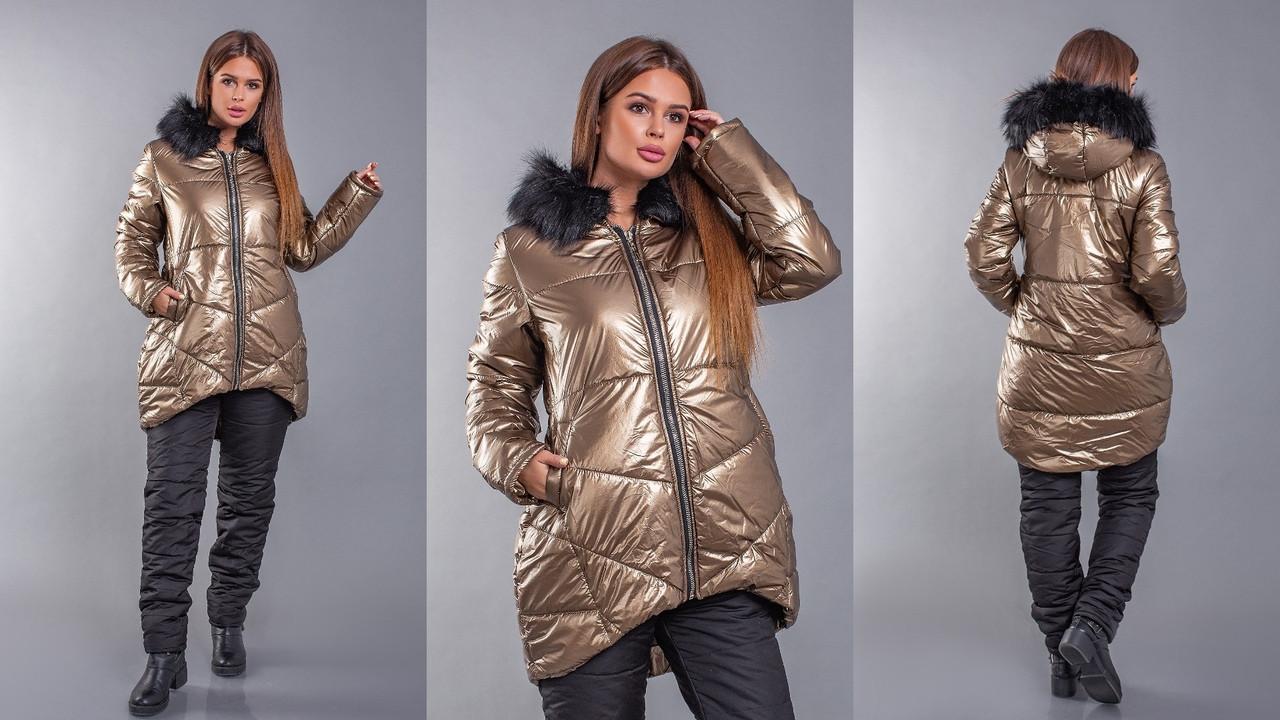 Зимний костюм женский Мод. 5230 ХЛ+