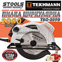 🔴Пила циркулярная Tekhmann TSC-2090 Гарантія 3 роки!