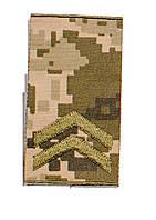 Погоны пиксель  муфта ( младший  сержант)