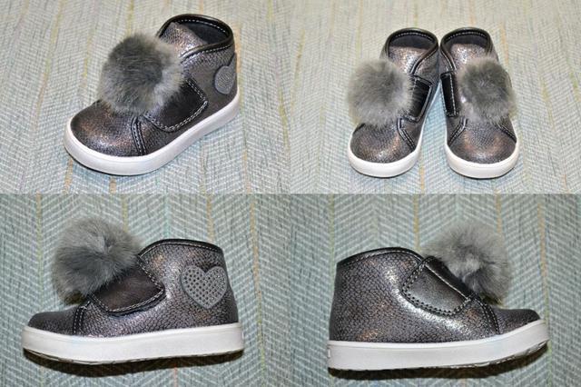 Детские ботинки с помпонами, Lapsi фото