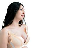 5056 Красивый бюст для беременных Беж 75ВС