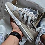 Кроссовки мужские Adidas ZX 500 RM D7841 White Camo, фото 2