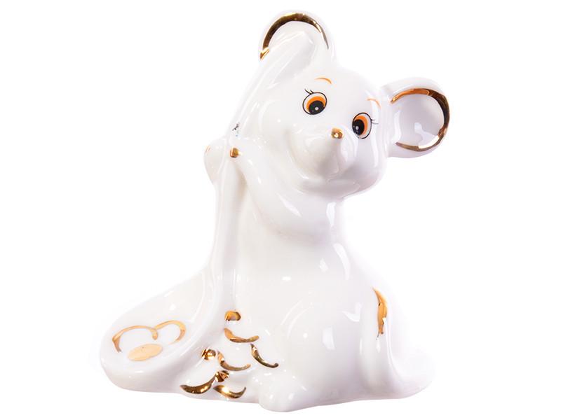 "Фигурка ""Мышка с золотыми монетами"" 7,5 см"