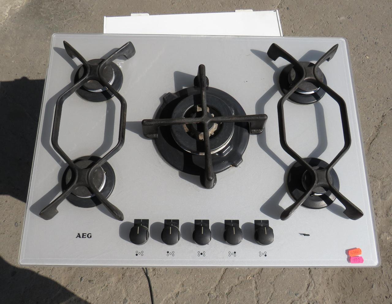 Газовая Варочная Поверхность AEG 95764 G-M (Код:1922) Состояние: Б/У