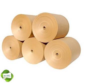 Крафт бумага в рулонах (разных диаметров и ширины), фото 2
