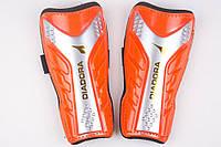 Щитки футбольные Diadora на резинке (Оранжевые), фото 1