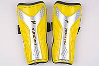 Щитки футбольные Diadora на резинке (Желтый), фото 1