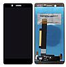Дисплей (екран) для Nokia 7 Dual Sim + тачскрін, чорний, оригінал