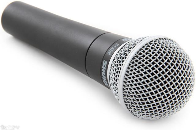 Микрофоны динамические