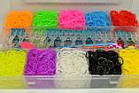 Набор резинок для плетения 5000+станок профессиональный+крючок метал, фото 2