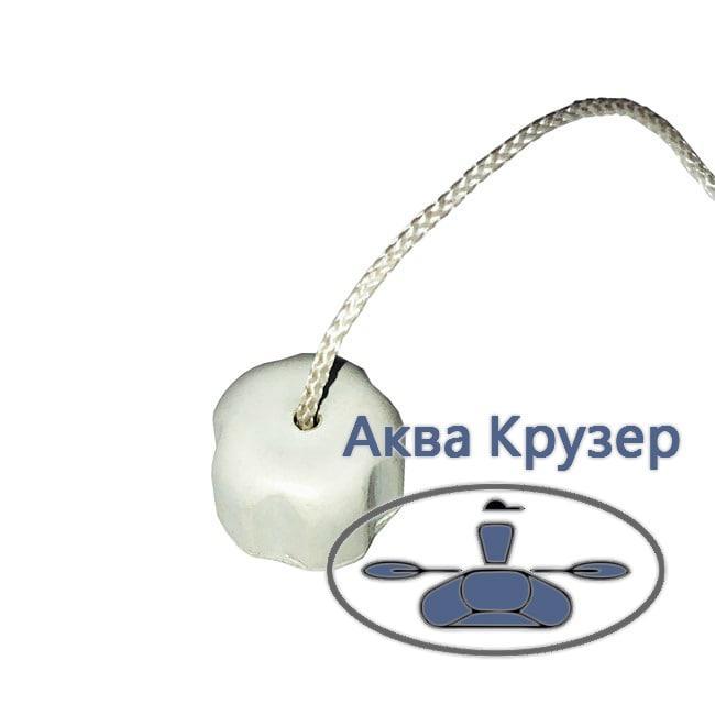 Гайка уключины (барашек) для надувных лодок ПВХ, цвет серый
