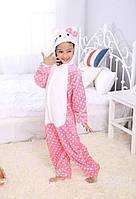 Детский кигуруми Hello Kitty розовый krd0049