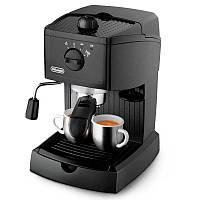 Рожковая кофеварка эспрессо Delonghi EC 146 B Black 1050 Вт