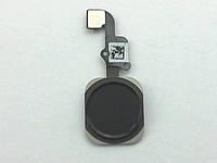 Плоский кабель Apple iPhone A1549/A1586 (6) с кнопкой Home (Black), лицензия