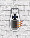 Портативный мини обогреватель Camry CR 7712 - Easy heater тепловентилятор в розетку макс мощность 700вт, фото 7