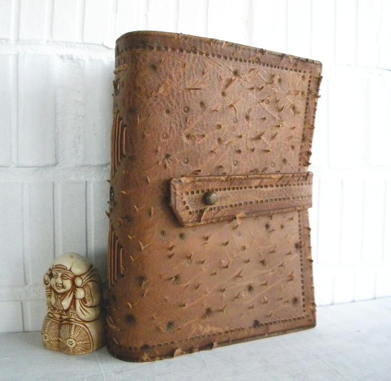 Оригинальный кожаный блокнот