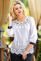 Оригинальная утонченная женская блуза