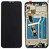 Дисплей (екран) для Huawei Y9 2019 (JKM-L23/JKM-LX3)/Enjoy 9 Plus + тачскрін, чорний, з передньою панеллю