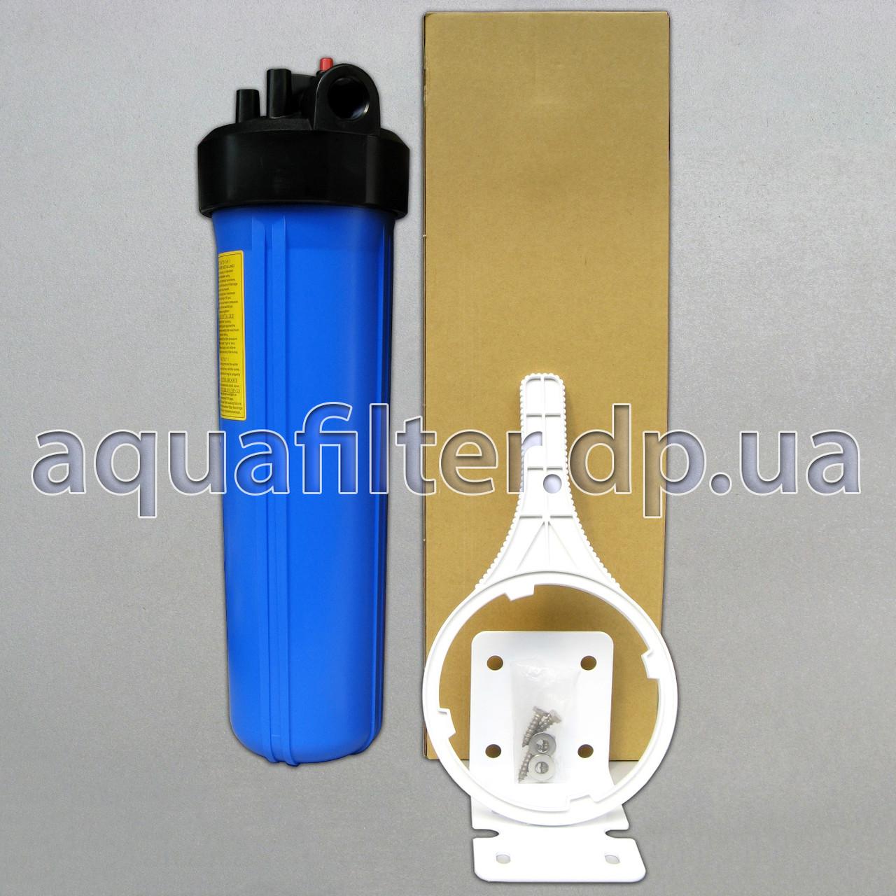"""Фильтр грубой очистки воды ORGANIC Big Blue 20"""" (ВВ20) 1"""""""
