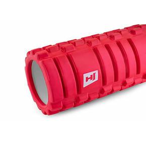 Роликовый массажер EVA 33 см red, фото 2