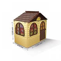 Детский игровой пластиковый домик со шторками ТМ Doloni (маленький) 02550/12