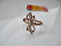 Кольцо золотое 585 пробы 19 размер 2.72 грамма