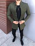 😜 Пальто - Мужское  черное пальто, фото 5