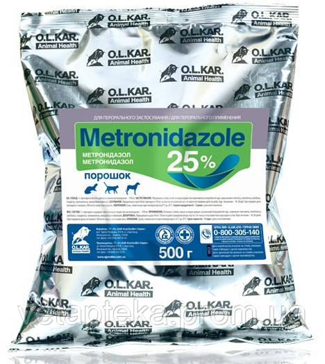Метронидазол 25%