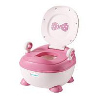 Детский горшок ЛуЛу, розовый - Babyhood BH-128P
