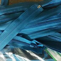 Застежка молния пластик Бирюза размер 75 см