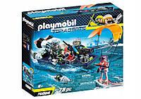 Playmobil 70006 Лучшие агенты Spy Shark лодка