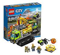 Lego City 60122 Вулкан гусеничная машина