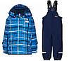 Зимний мембранный комбинезонLEGOWear(Дания) для мальчика 92, 98 см раздельный голубой