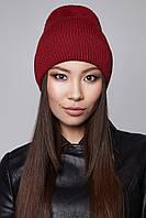 Модная вязаная шапка Sammy Flip Uni бордо