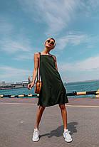 Женское летнее платье (цвет - хаки, ткань - софт) Размер S, M, L (розница и опт)