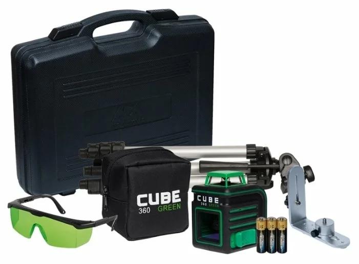 Лазерный нивелир ADA Cube 2-360 Green Ultimate Edition (A00471)