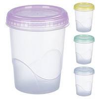 Контейнер пластиковый для пищевых продуктов 0,470 мл. круглый арт. PT-83535