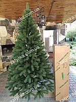 Литая елка Буковельская  2.10м. зеленая (Бесплатная  доставка)  / Лита ялинка
