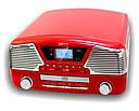 Музыкальный проигрыватель-грамофон Camry CR 1134 r - ГРАМПЛАСТИНКИ /CD /MP3 / USB/ SD, фото 6